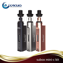 Black color Kanger Subox Mini-C Starter Kit Kangertech Subox Mini C Kit With 50w Subox Mini-C Mod & 3ml Protank 5 Atomizer