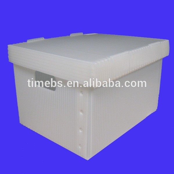 Plastic cloth package box, plastic storage box for clothes