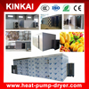 Vegetable dehydration and leaves drying machine for heat pump dryer