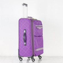 Waterproof 600d Polyester Eva Luggage Cabin Trolley Bag