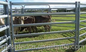 heavy duty temporary galvanized wire welded steel cattle corral panels/fence panel for sale