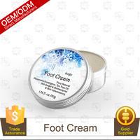 Winter Season Peppermint,Eucalyptus, Tea Tree Oil Foot Care Cream 50g OEM Supply