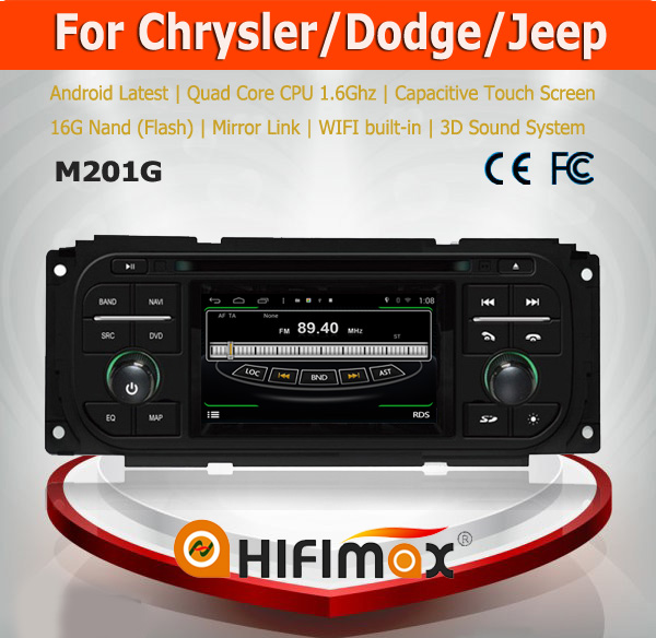 HIFIMAX Android car dvd player for Jeep Grand Cherokee 2 din car dvd player for Jeep Wrangler ect