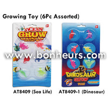 New Novelty Toy Ocean Dinosaur Colorful Growing Sea Life Animal