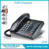 2 lines VoIP corded phone office telephone Q708