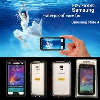 Full New Waterproof Touch Screen Case Cover Skin For Samsung Galaxy Note 4 N9100