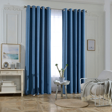 China Manufacturer Polyester Jacquard Blackout Curtain For The Living Room Modern