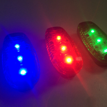 New arrival LED flashing safety running light for runner