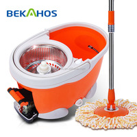 Bekahos Top sale 360 degree spin and go easy spin mop with foot pedal