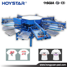 cheap price octopus automatic screen printing machine for t shirt