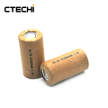 NiCd SC 2000mAh 1.2V battery with paper tube for power tools