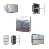 china morgue 2 corpse refrigerator funeral equipment