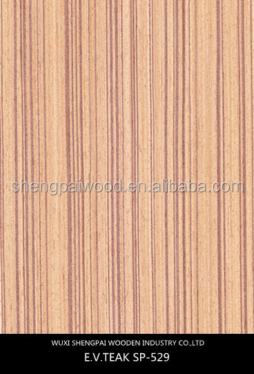 0.5mm thickness slice cut teak wood veneer/palisander veneer for decorative furniture wall hotel