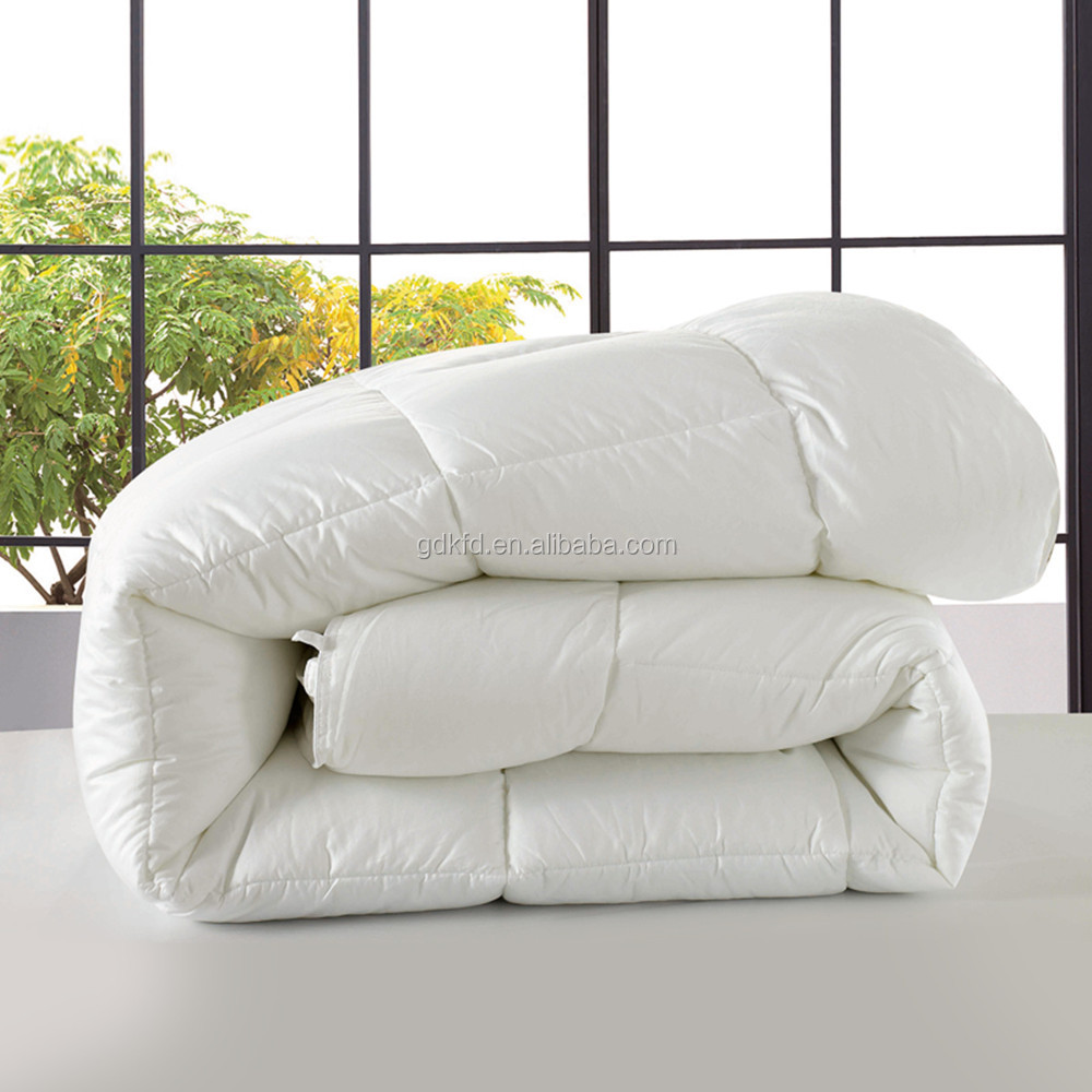 230gsm 30% white goose down quality comforter/ white goose down quilt