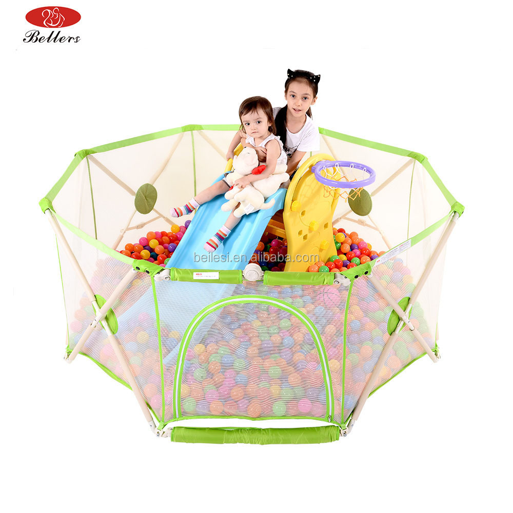 Bellers Buy Luxury Best Large Portable Baby Play Pen / Baby Gate Playpen / Playpen for Baby