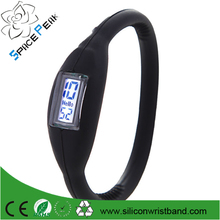silicone anion tourmaline montre anion watches digital sport Anion Negative Ion Silicone LED Bracelet watch