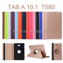 2016 Ultra Slim 360 Degree rotating Leather Case for samsung Galaxy Tab A 10.1 T580 T585 rotation case