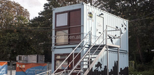 Smart prefabricated portable container, colorful house / kit log home