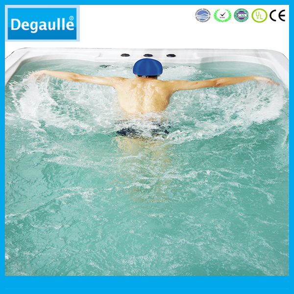 Hot sale outdoor swim spa pool with massage bathtub