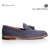 Fashion tassel leather shoes slip-on genuine leather sole loafers men dress shoes