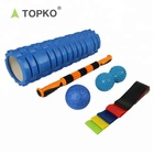 TOPKO New Arrival Gym use Exercise Muscle Massage Foam Roller Set