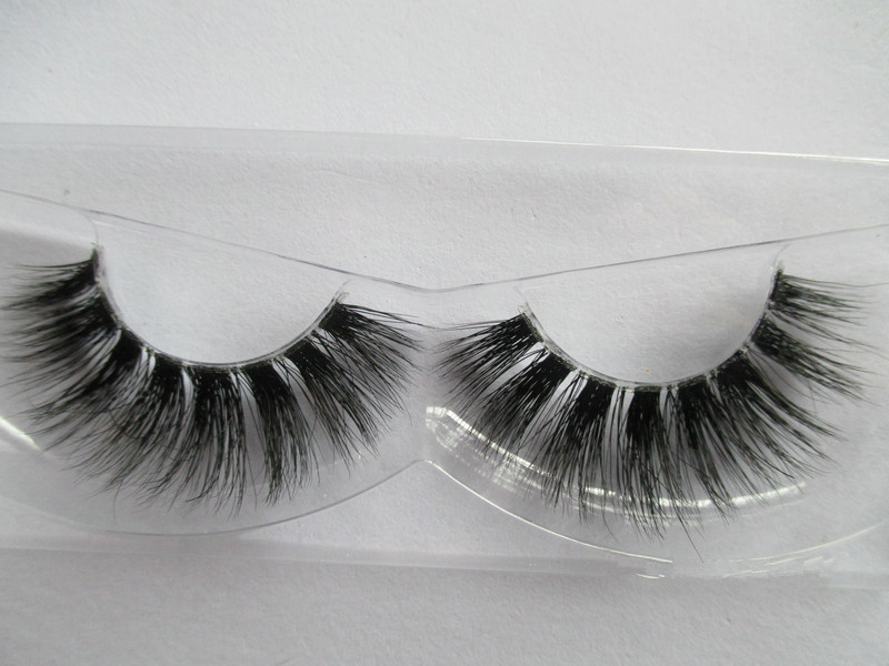Top quality Natural long style 3D Mink Lashes private label various styles 3d eyelashes