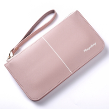 Hengsheng ladies wallet women long section Europe and the United States zipper small fresh mobile phone bag