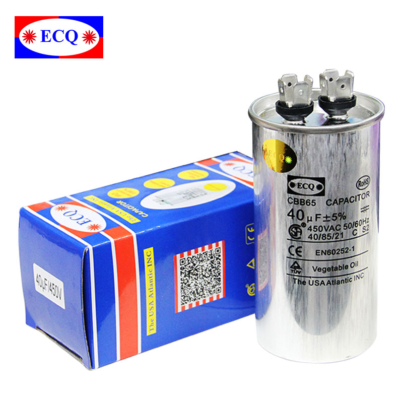Air conditioner aluminum capacitor CBB65
