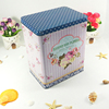 Food safe metal storage box rectangle airtight candy tin container