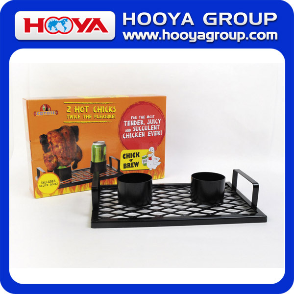 BBQ Beer Chicken Cooker BBQ Beer Chicken Roasting Rack