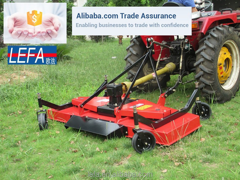 Agricultural equipment lawn mower tractor 3 point finishing mower