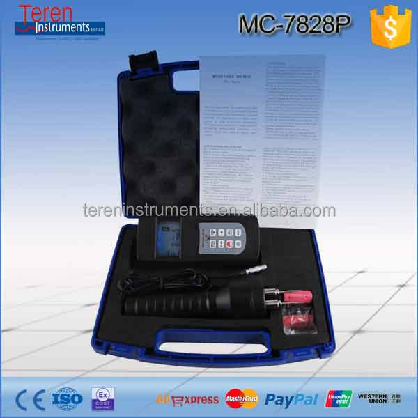 Low cost high quality digital moisture meter, portable wood moisture meter