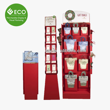 2017 ECO Greeting Card Shelf Of Cardboard Display Rack For Book Stores