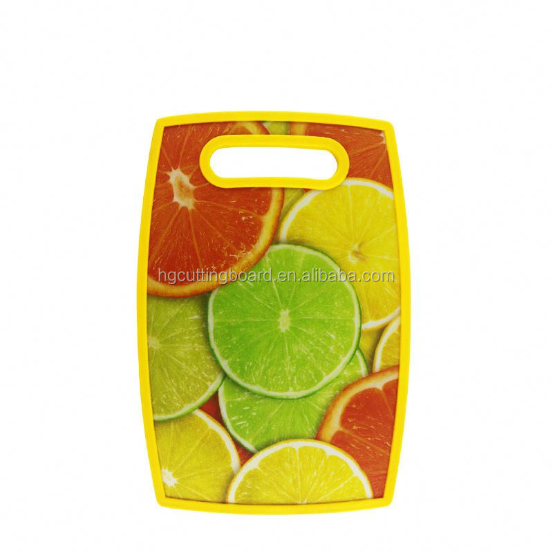 Kitchen equipment availability board plastic fruit cutting pp chopping boards