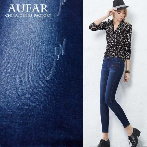 AUFAR cotton polyester spandex yarn dyed fabric cloth
