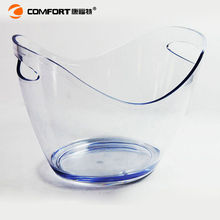 Acrylic bottle service bucket