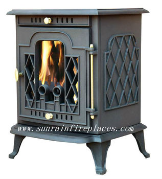 cast iron stove with oven(JA011)