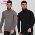 cotton roll neck mens t shirt,muscle fit t shirt,2018 new style t shirt wholesale