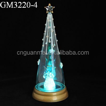 Led Lighted Walmart Christmas Tree with Angel Inside