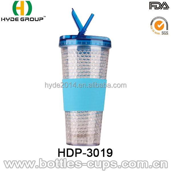 2016 Summer Double Wall 16oz acrylic Ice tumbler manufacturers