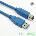 High Speed &Quality USB 3.0 Printer Cable AM /BM
