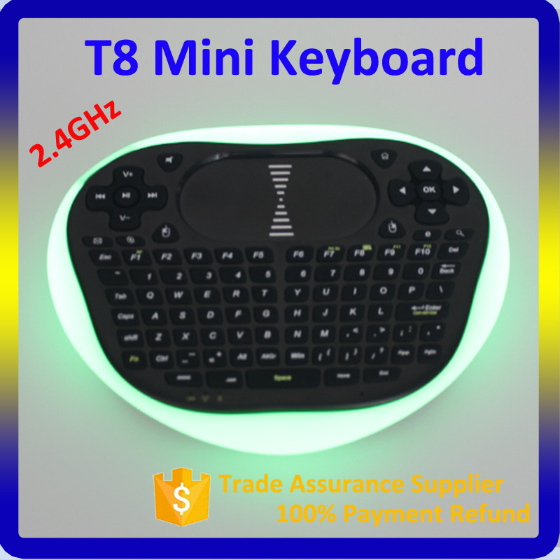 Mini Wireless Keyboard With Backlight Function T8 Gaming Keyboard