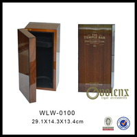 Elegant Wooden Wine Bottle Gift Box For Bottles