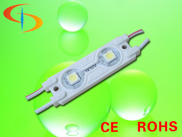 shenzhen 2years warranry injection led module 5050 smd led light bar 12V injection molding led module for sign