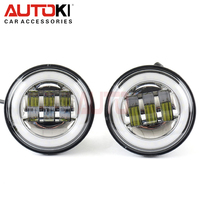 Autoki Jeep Wrangler Dodge led foglight, 4 inch 30w a pair led fog light