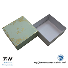 Professional own design skin care box cardboard cosmetic packaging no minimums