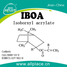China Supplier High performance acrylic monomers Isobornyl acrylate/IBOA CAS NO. : 5888-33-5