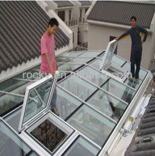 glass roofing panels
