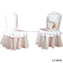 White new design hotel banquet wedding chair cover