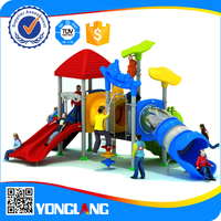 amusement childrens outdoor playground machine with slide for park